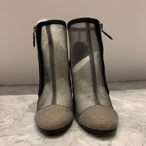CHANEL Shoes   Chanel Mesh Booties